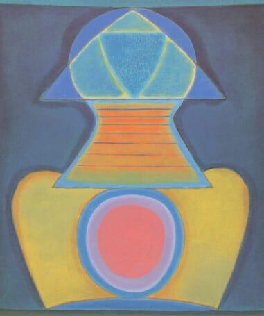 Benjamin Cremen litografia vuodelta 1964, Meditation