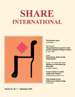 Share International -aikakauslehti englanniksi