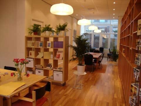 Share informaatiokeskus Amsterdamissa sisältä